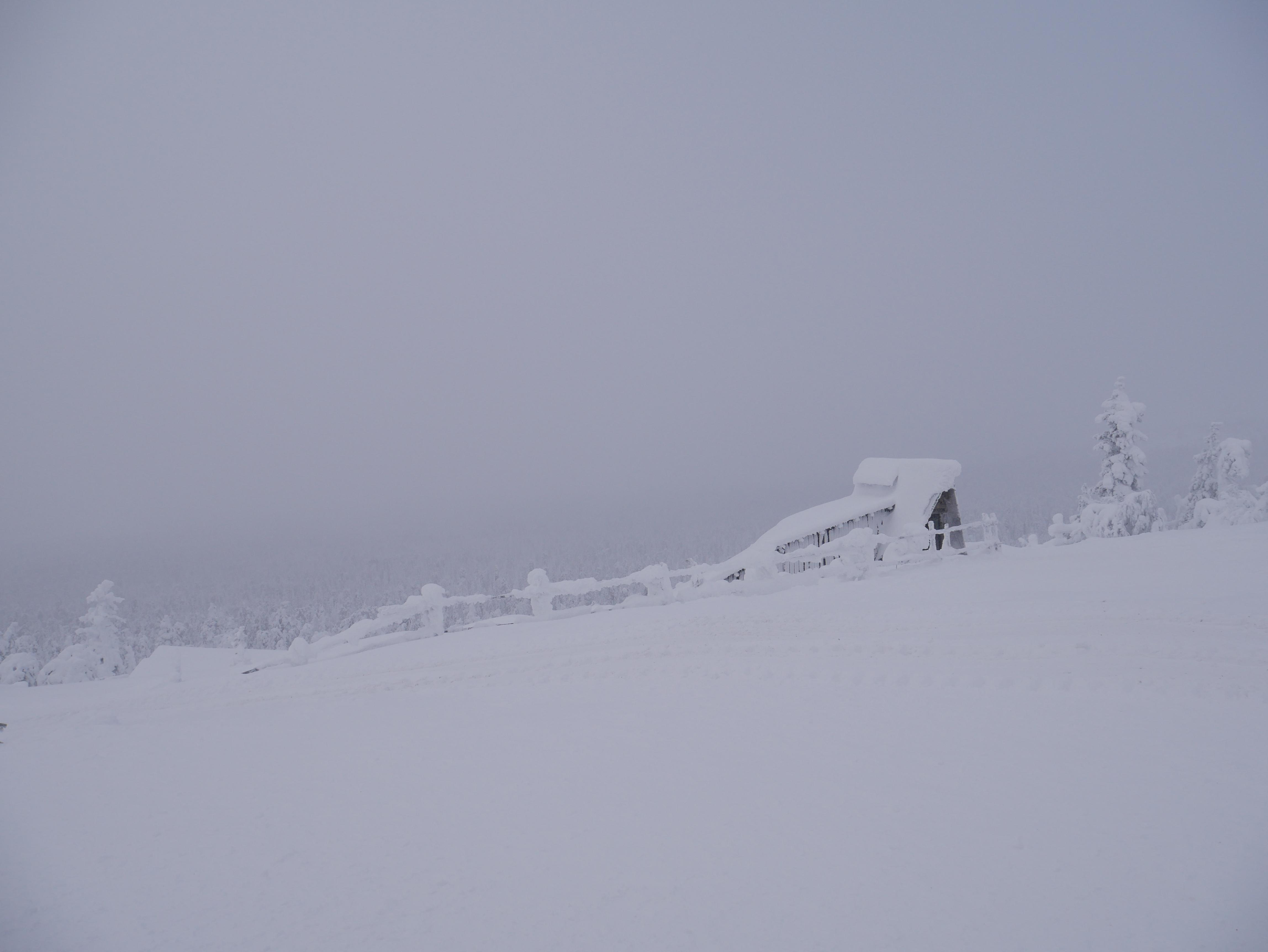Laponie - Mine d'améthyste paysage