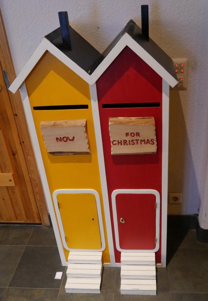 Laponie - Village du Père Noël boite aux lettres