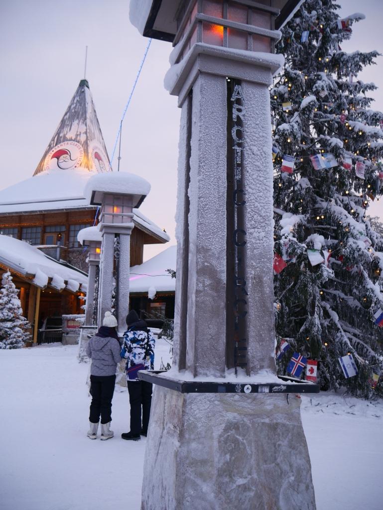 Laponie - Village du Père Noël - cercle arctique