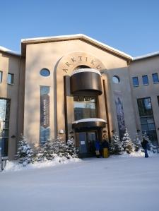 Laponie - Arktikum entrée