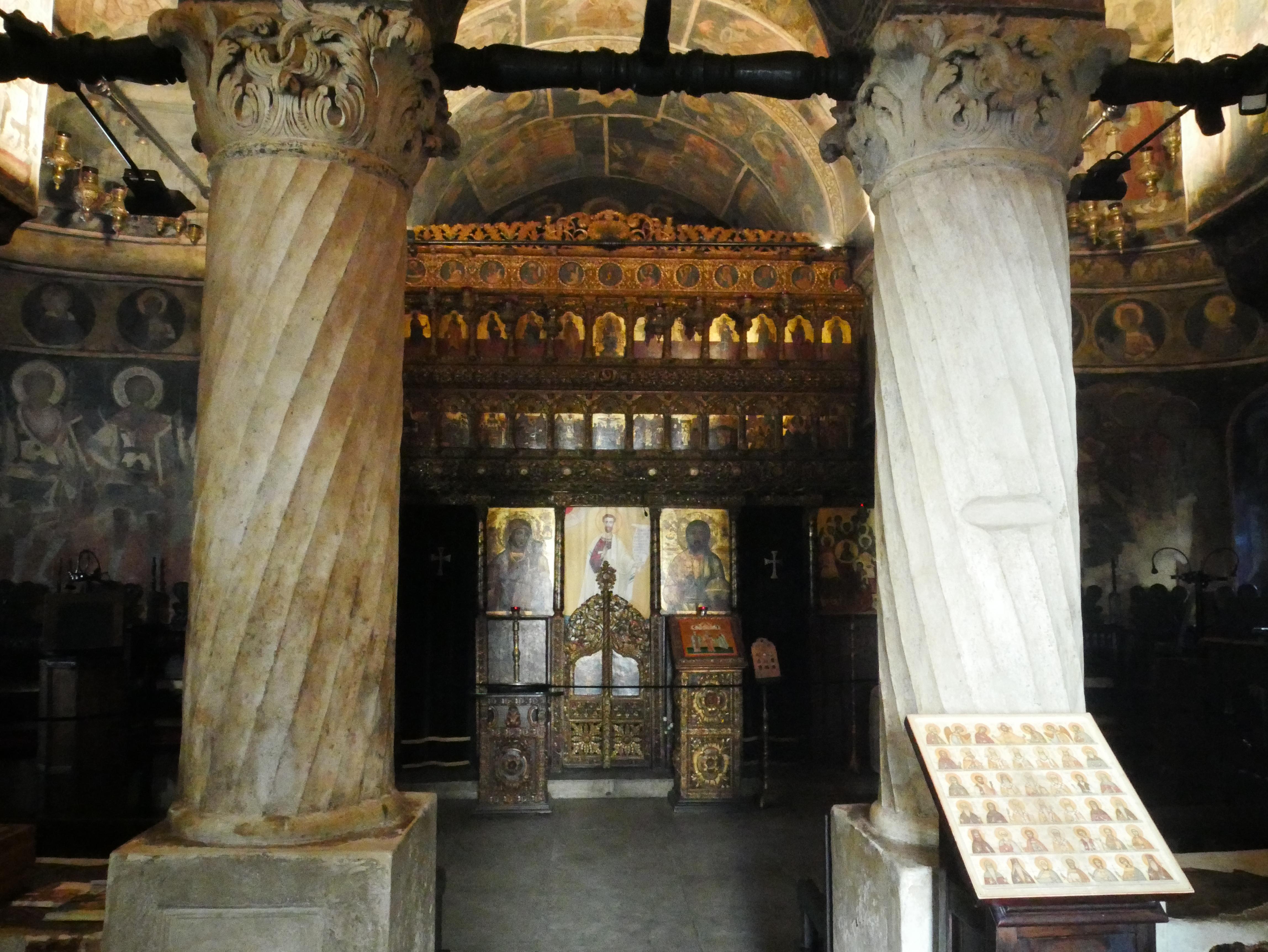 Bucarest - Eglise Stavropoleos