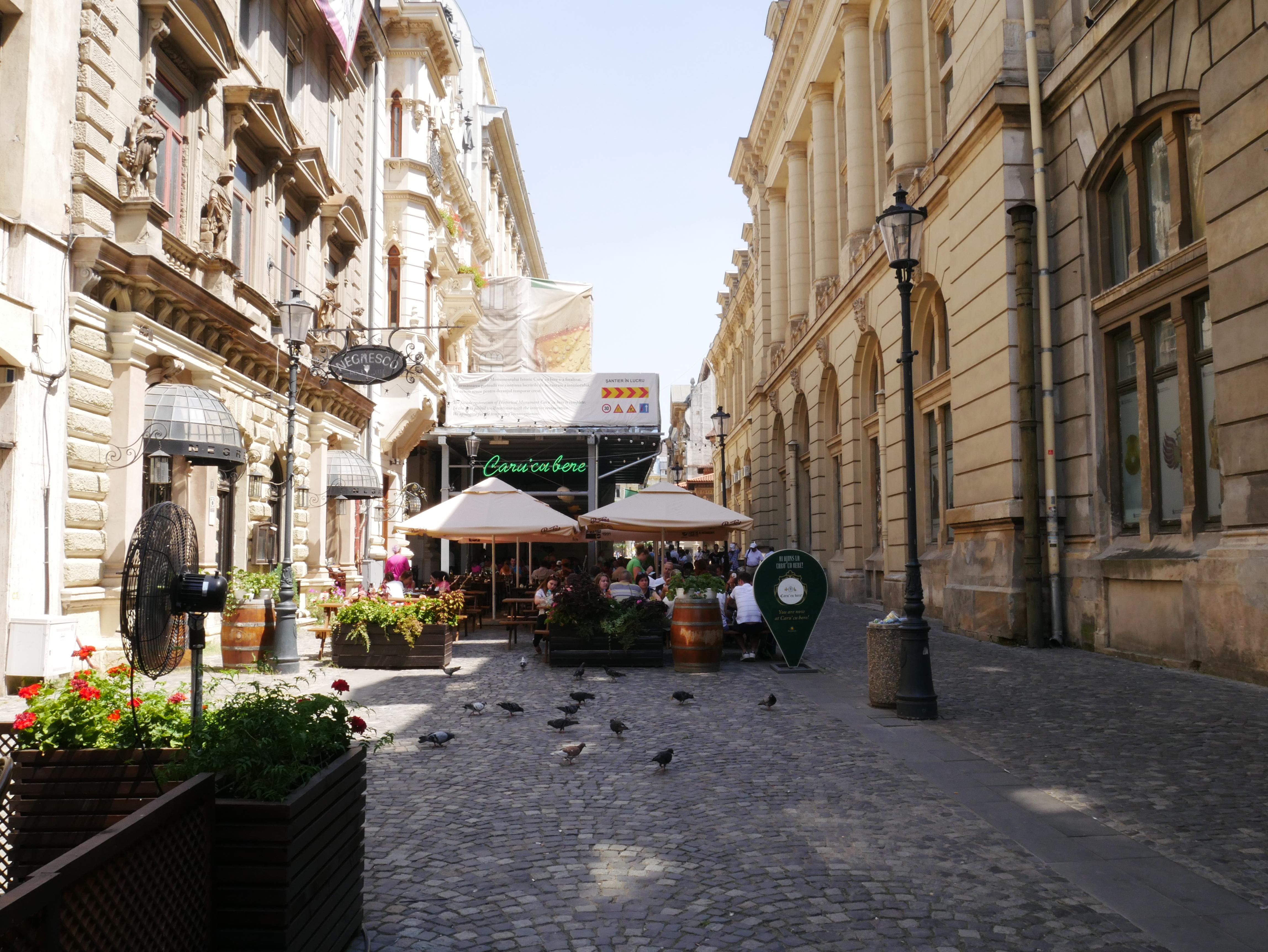 Les jolies rues de Bucarest