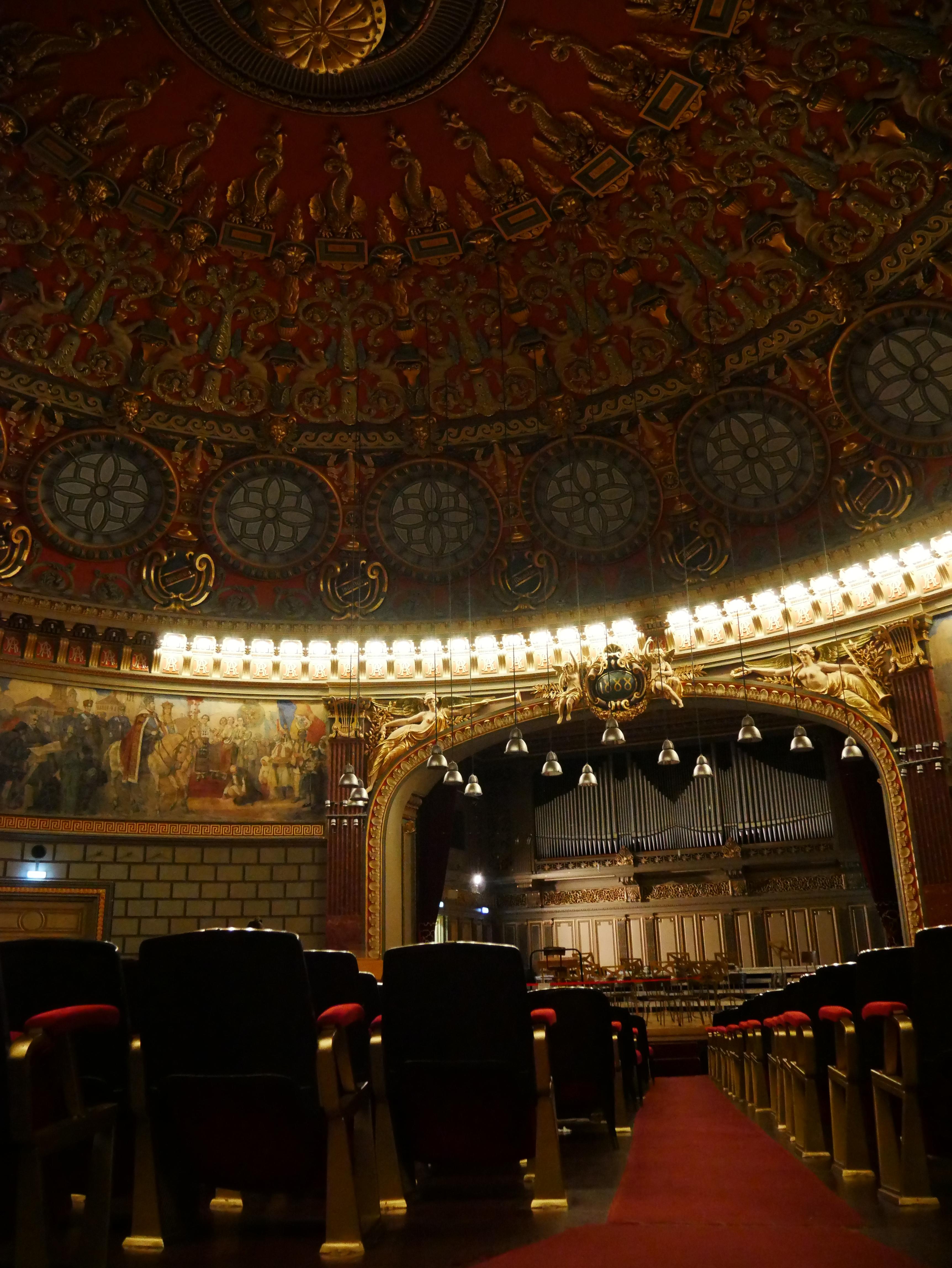 Bucarest - Auditrium de l'Athénée roumain