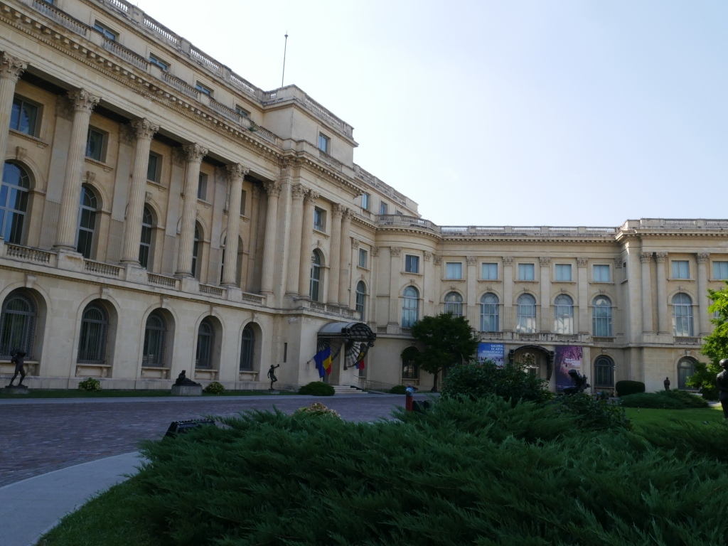 Bucarest - Musée National d'Arts de Roumanie