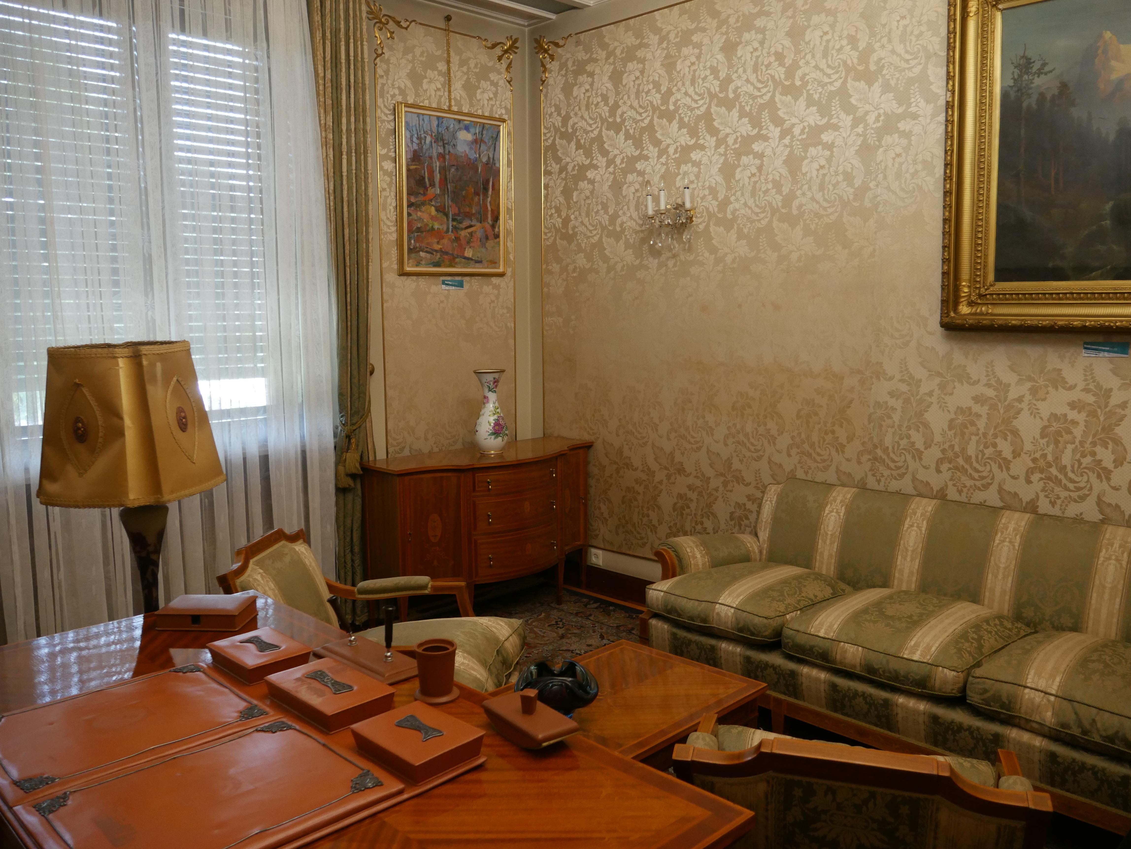 Bucarest - Palais du Printemps - Appartement de Nicu Ceausescu