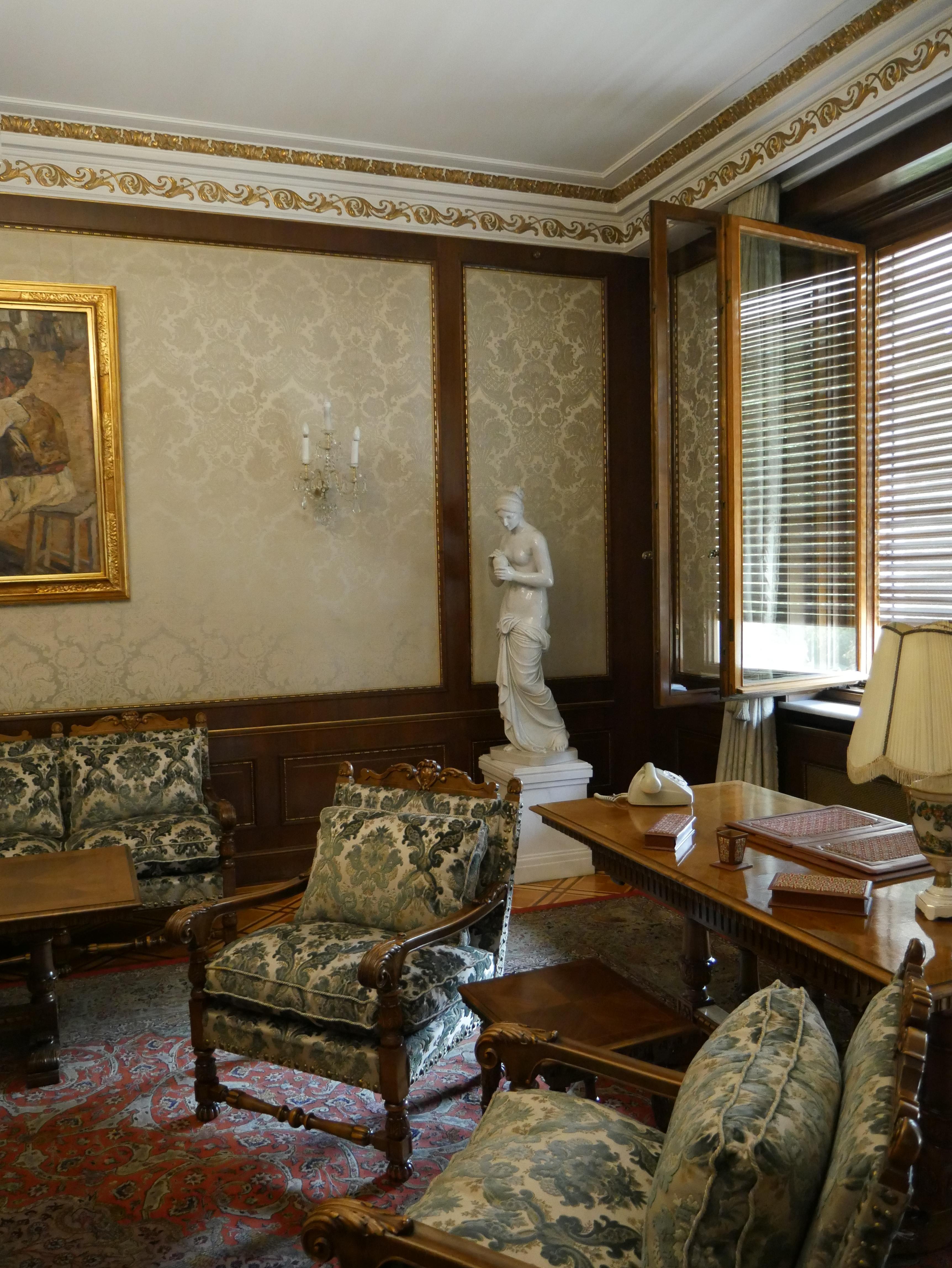 Bucarest - Palais du Printemps - Appartement de Valentin Ceausescu