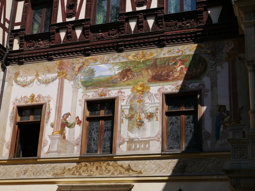 Roumanie - Château de Peles fresques