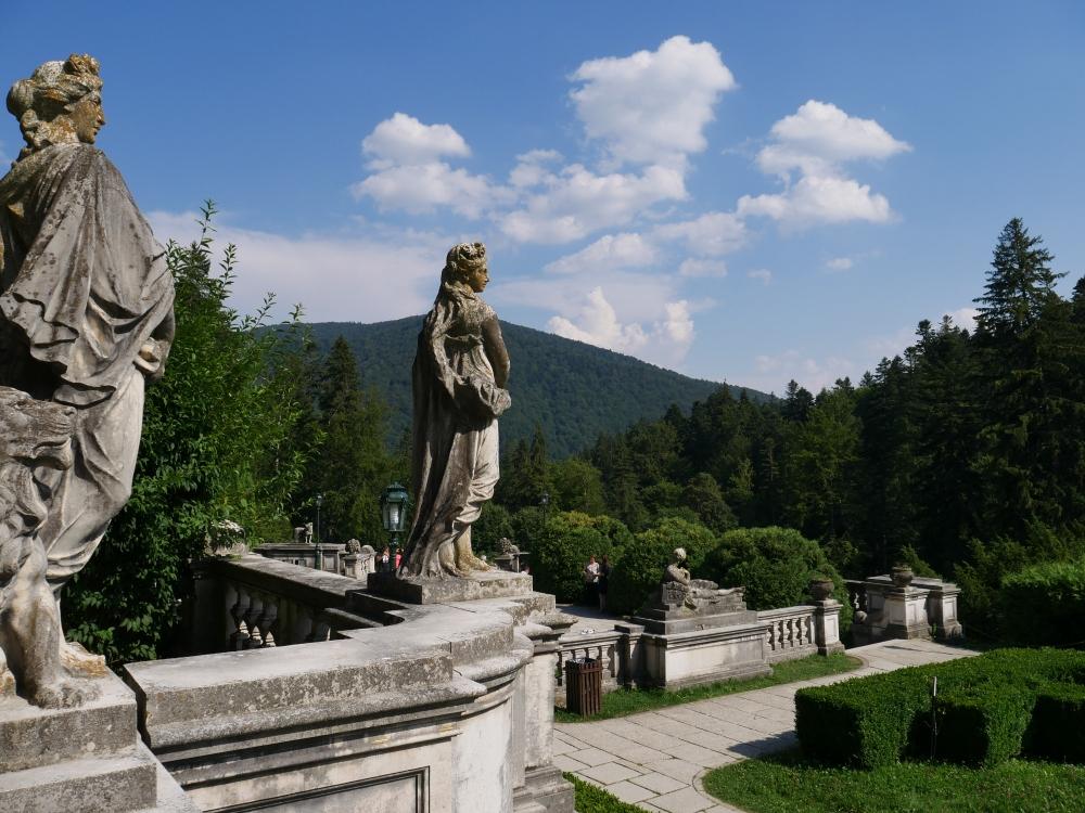 Roumanie - Château de Peles - Extérieur