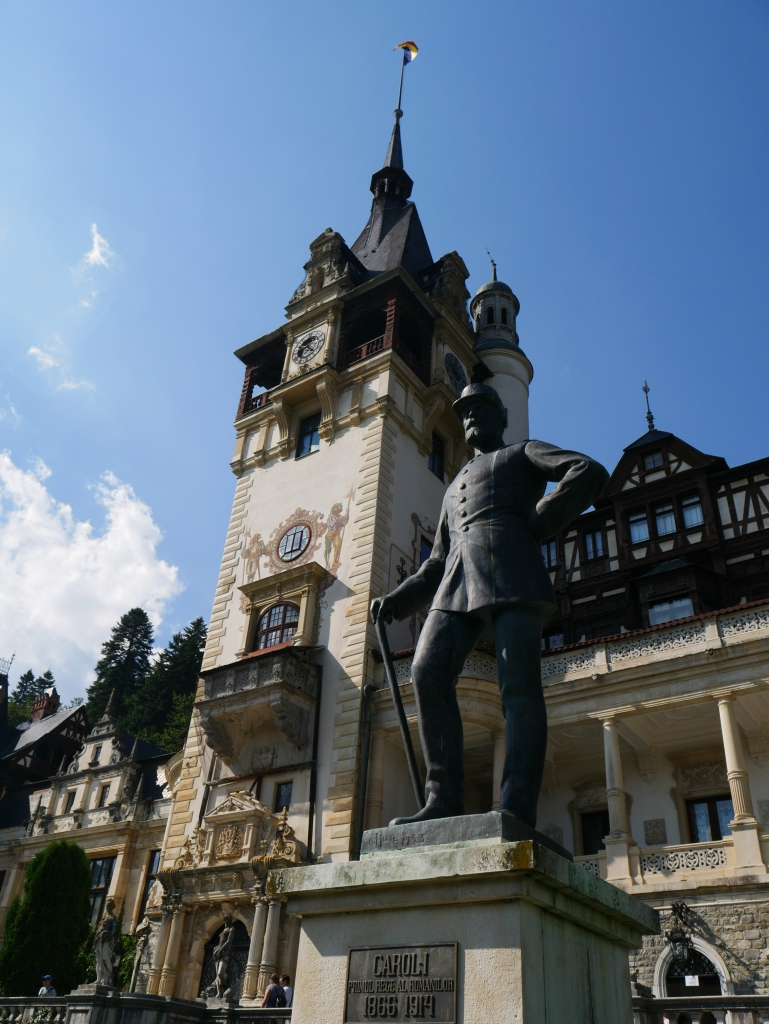 Roumanie - Château de Peles - Carol I