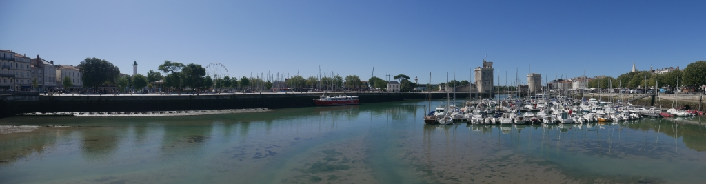Panorama sur le Vieux port