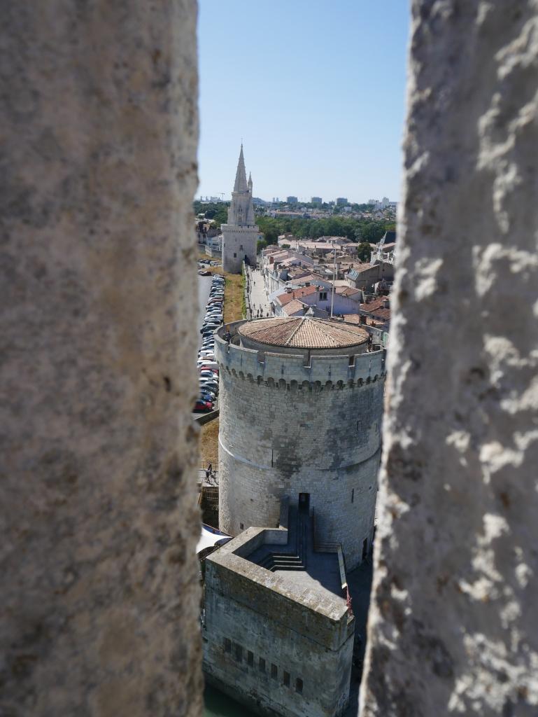 Vue depuis la Tour St-Nicolas
