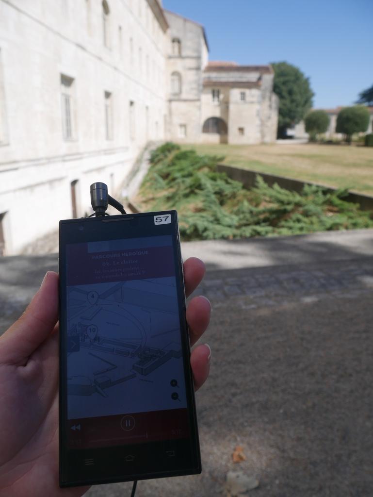 Saintes - Abbaye aux Dames audioguide